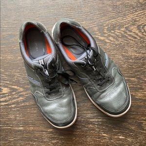 Rockport sneakers leather grey 9.5